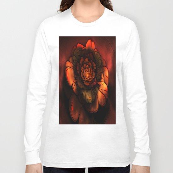 Neon Flower Long Sleeve T-shirt