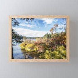 A Jumble of Color Framed Mini Art Print