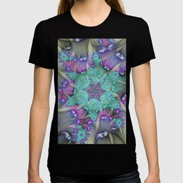 Find Yourself, Abstract Fractal Art T-shirt