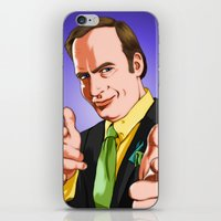 better call saul iPhone & iPod Skins featuring Better Call Saul by Ryan Ketley