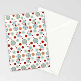 Poster Background | Circles Theme Stationery Cards