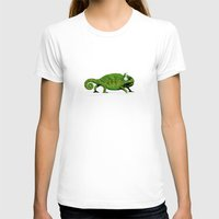 chameleon T-shirts featuring Chameleon by Badamg