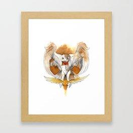 Potter Hedwig Owl Framed Art Print