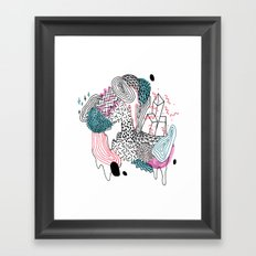 Gooey Framed Art Print