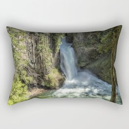 Tokatee Falls Rectangular Pillow