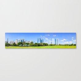 Sao Paulo Panorama Canvas Print