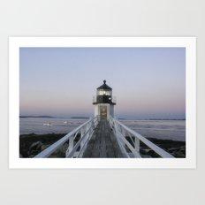 Marshall Point Lighthouse Art Print