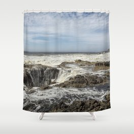 Thor's Well, No. 2 Shower Curtain