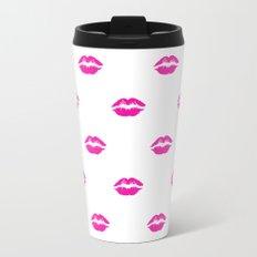 Pink lipstick Travel Mug