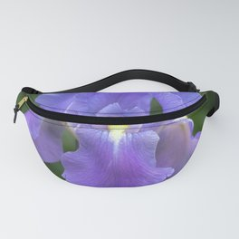 Purple Iris Fanny Pack