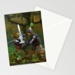 Forest Duel Stationery Cards