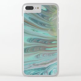Green Fingers Clear iPhone Case