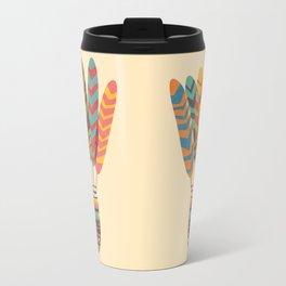 Rustic shuttlecock Travel Mug