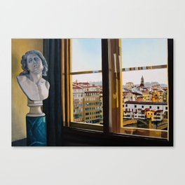 Uffizi View Canvas Print