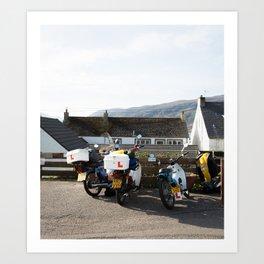 Scottish highland finds - Ullapool   Assynt landscape travel print culture decoration scotland photo Art Print