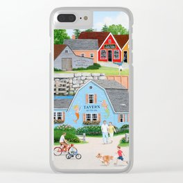 A Day with Dad Clear iPhone Case