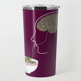 Noodle Brain Travel Mug