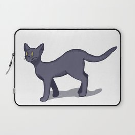 Cute Black Cat Laptop Sleeve