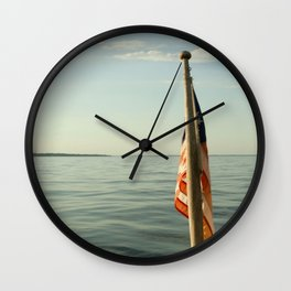 Old Bay & Glory Wall Clock