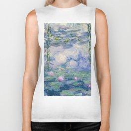 """Claude Monet """"Water Lilies(Nymphéas)"""" (9) 1916–19.jpg Biker Tank"""