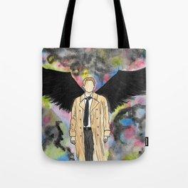 Watercolor Angel Tote Bag