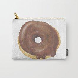 Chocolate Iced Doughnut Carry-All Pouch