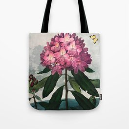 Robert John Thornton - The Pontic Rhododendron Tote Bag