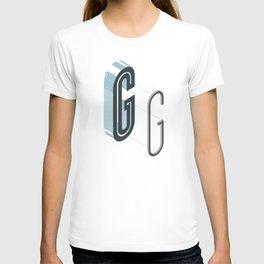 The Exploded Alphabet / G T-shirt