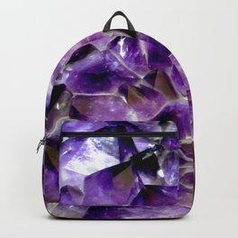 Glowing Amethyst Backpack