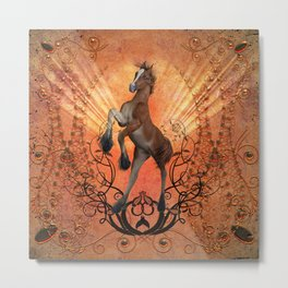 The foal Metal Print