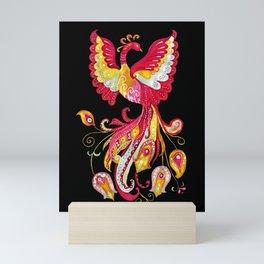 Firebird - Fantasy Creature Mini Art Print