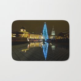 Trafalgar Square Christmas Tree Bath Mat