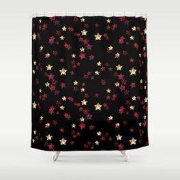 The night sky. Stars Shower Curtain