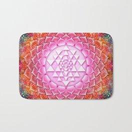 Sri Yantra Lotus I Bath Mat