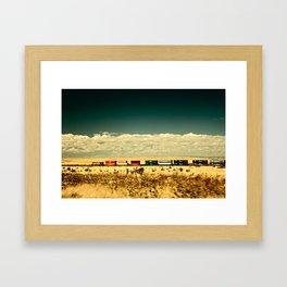 Box Cars Framed Art Print