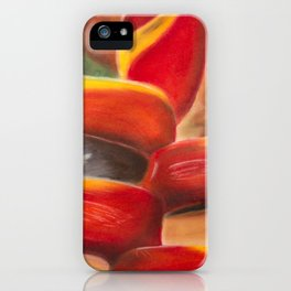 Heliconia iPhone Case