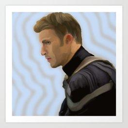 Chris Evans Art Print