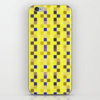 "pixel iPhone & iPod Skins featuring ""Pixel"" by Mr and Mrs Quirynen"