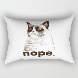 GRUMPY CAT - Nope (version 2) Rectangular Pillow