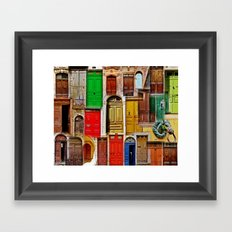 Entrez! Framed Art Print