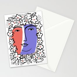 Goddess of Spring Stationery Cards
