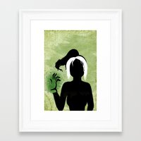rogue Framed Art Prints featuring Rogue by Sprite