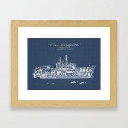 The Belafonte Blueprint Framed Art Print