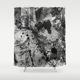 Lost In Contrast Shower Curtain