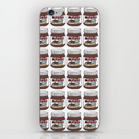 nutella iPhone & iPod Skins featuring Nutella Love by Gabriela Riveros