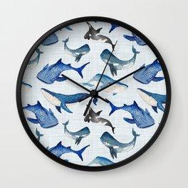 Spirit of the Sea / Linen Wall Clock