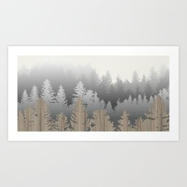 Treescape Large Art Print