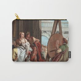 Giovanni Battista Tiepolo Alexander the Great and Campaspe in the Studio of Apelles Carry-All Pouch