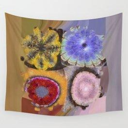 Ergastic Entity Flower  ID:16165-005314-25310 Wall Tapestry