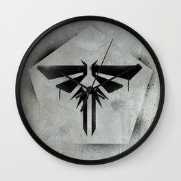 When you're lost in the darkness, look for the light. Wall Clock